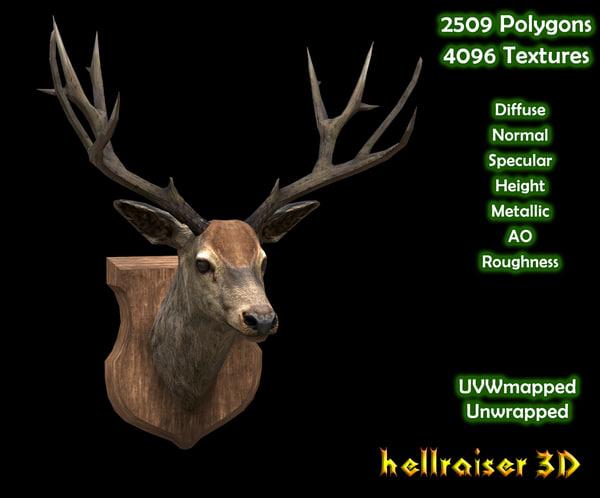deer head model