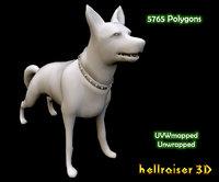 3D dog ready