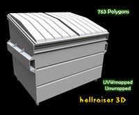 dumpster ready 3D model