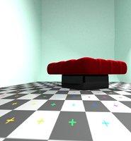 pufys chair 3D