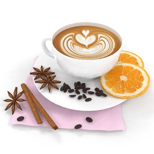 coffee orange anise 3D model