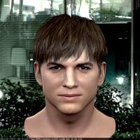 3d model Human head v7