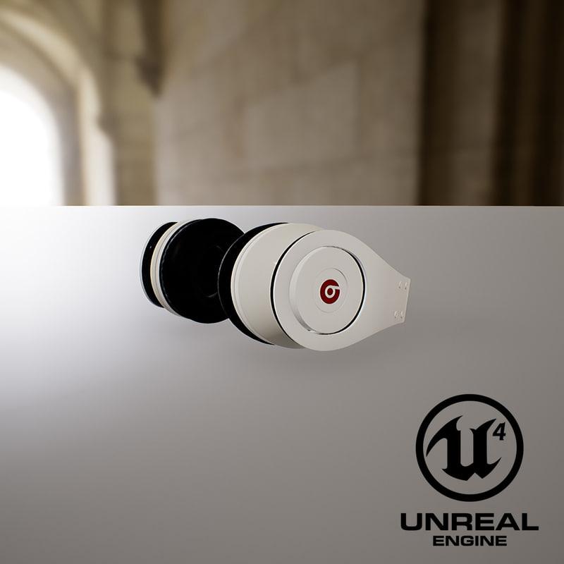 beats white headphones model