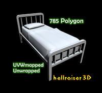bed ready 3D model