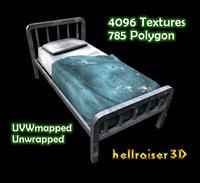 3D model bed ready