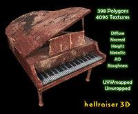 3D piano ready