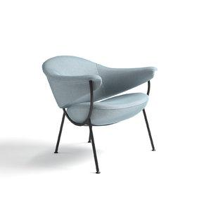3D model chair murano