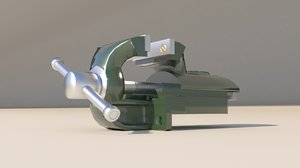 3D bench vice