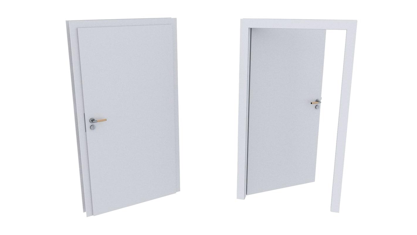 3D door different formats