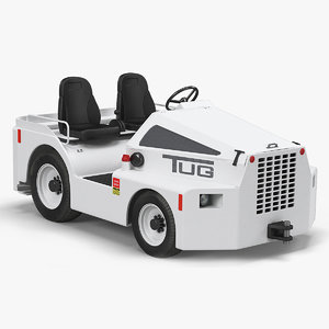 tow tractor tug m1a 3D model