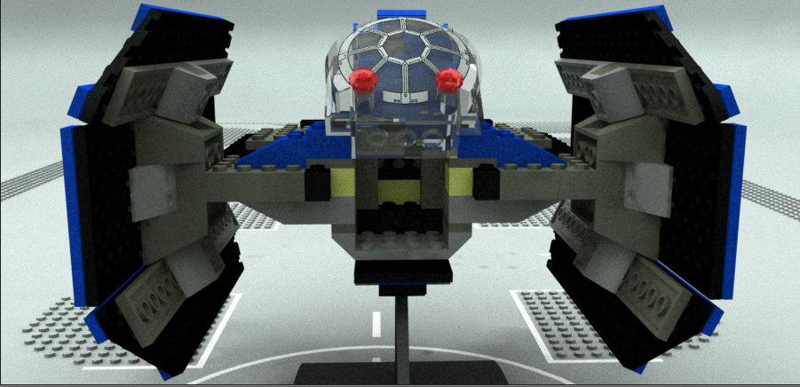 3D model lego sw class advanced
