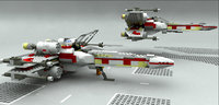 LEGO SW X Fighter wing