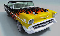 3D chevrolet chevy bel air