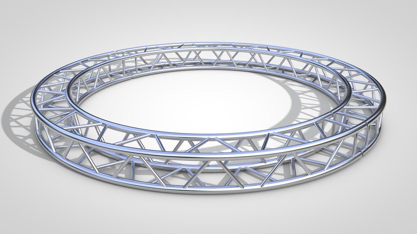 truss circle 3D