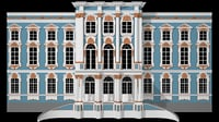 centery catherines palace 3D model