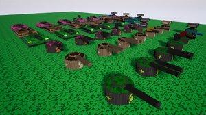 gamedev tank model