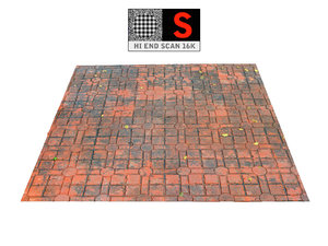 3D acient pavement 16k