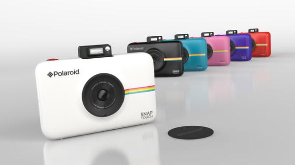 polaroid snaptouch 3D model
