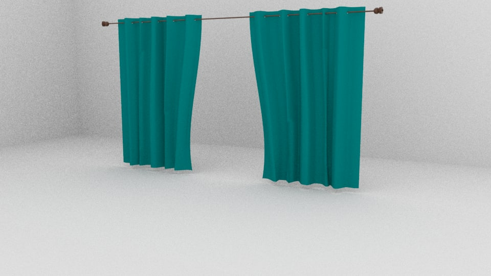 curtains 3D