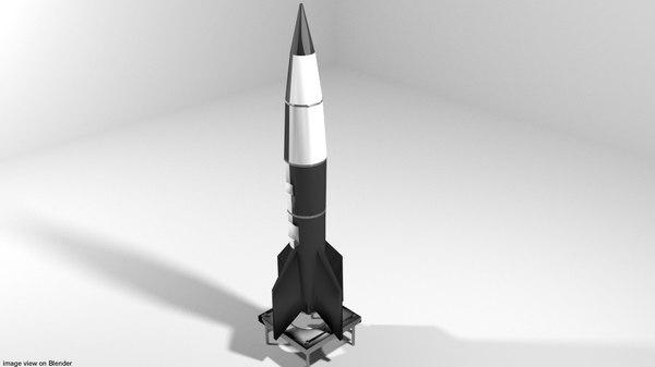 3D missile rocket v2
