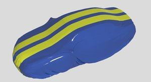 car body cover 3D