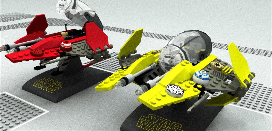lego sw episode 3 3D model