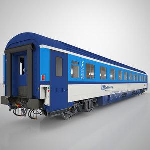 3D bmz class passenger model