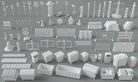 3D 67 pieces