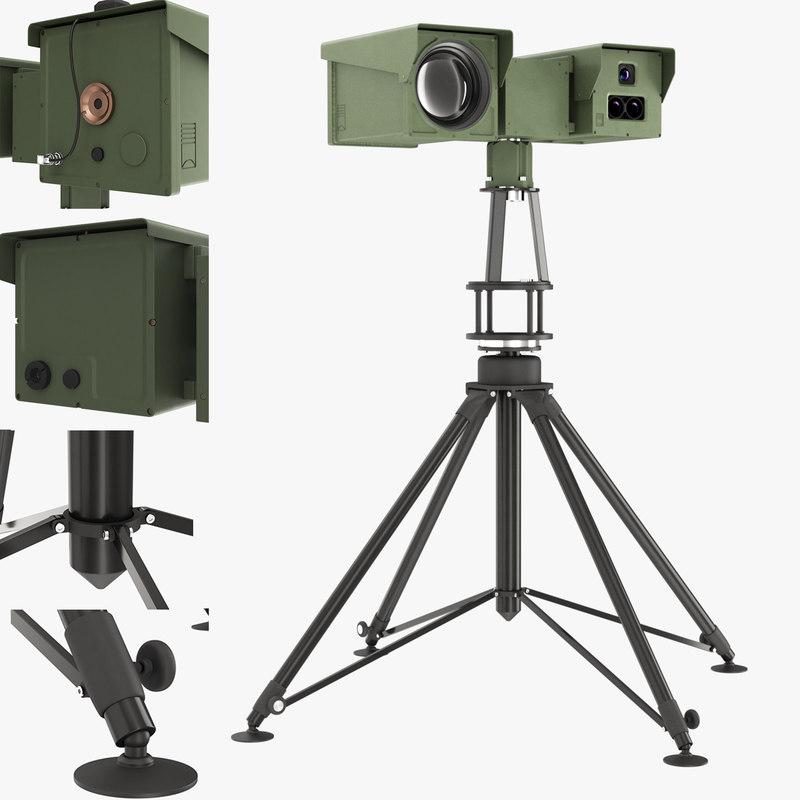 pergam ptp-225m rotary systems 3D