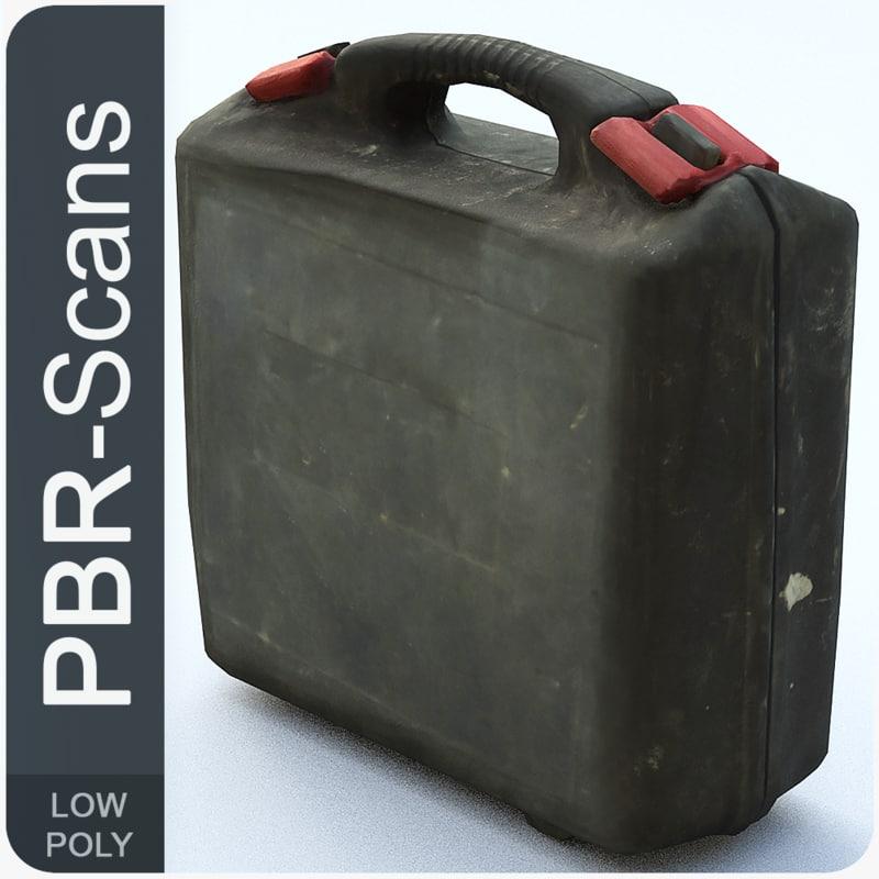 3D 47 suitcase model