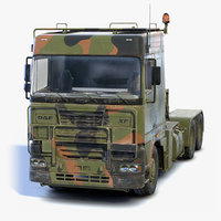 3D low-poly daf tropco