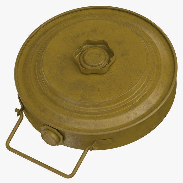 3D model landmine 35