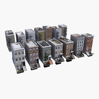 3D townhouses games