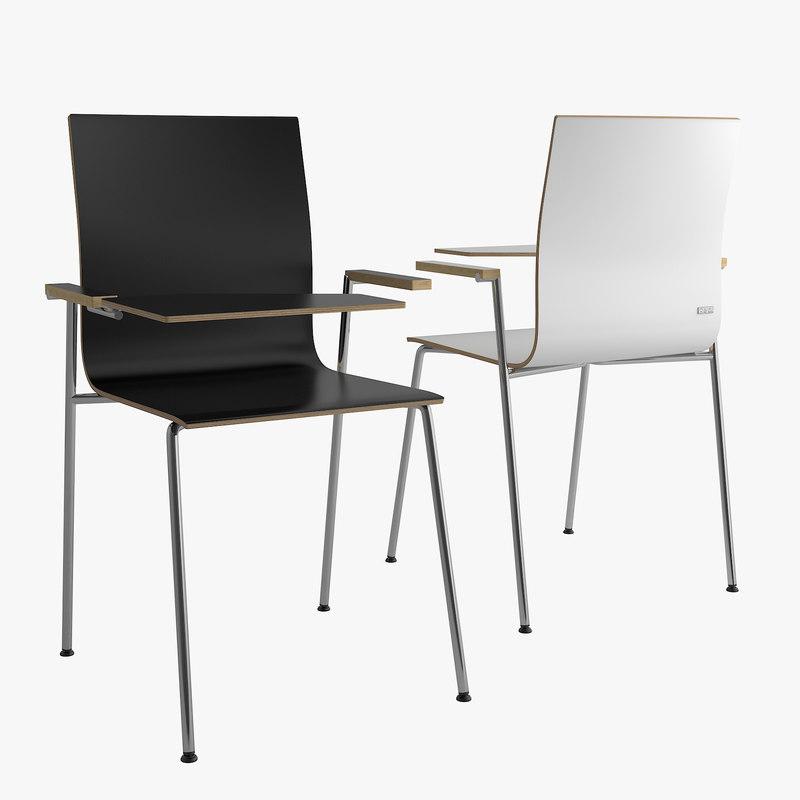 3D model chair orte bejot