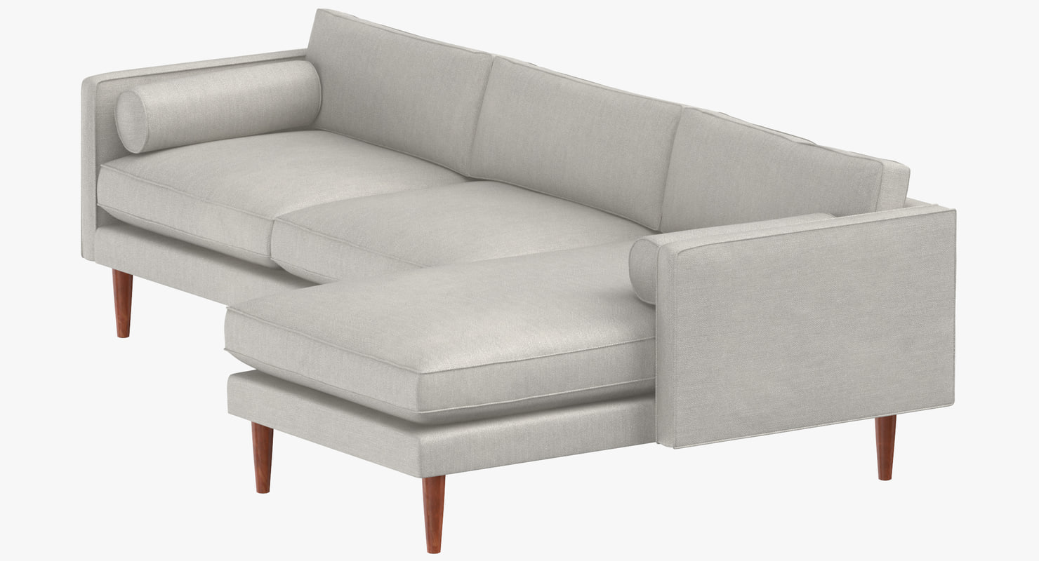 Mid-Century Modern Sectional Modular Sofas