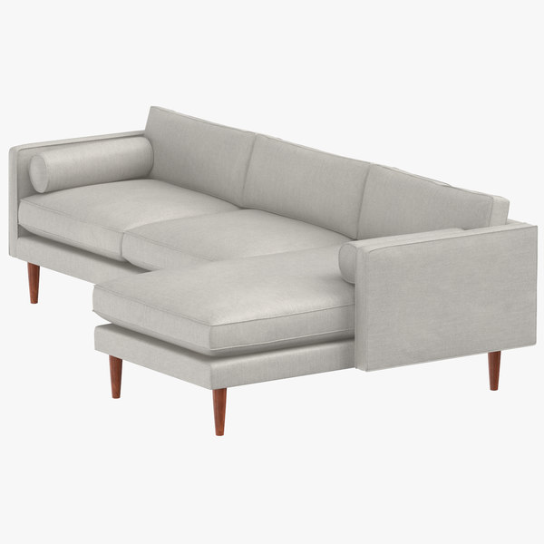 3D modern sectional modular sofa