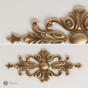 3ds max decorative onlay