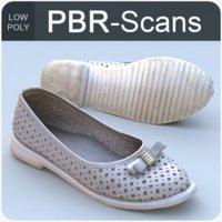 3D scans shoe model