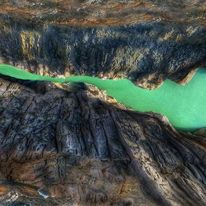 3D model river spain