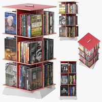 buchstabler bookcase 3D model
