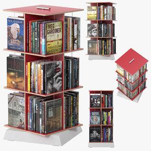 buchstabler bookcase 3D model