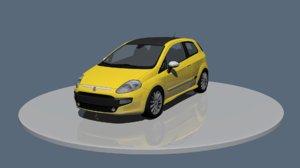 3D model fiat punto