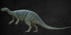 dinosaur camptosaurus 3D model