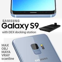 samsung galaxy s9 dex 3D model