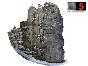 mountain winter 16k 3D