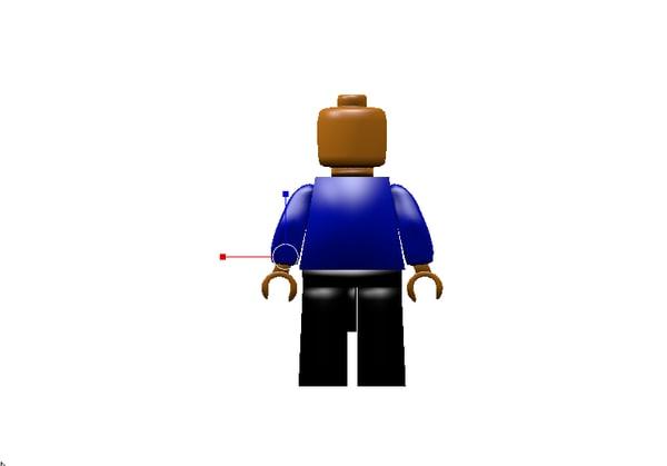 3D lego original model