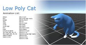platform animations 3D model