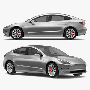 tesla modeled s 3D model