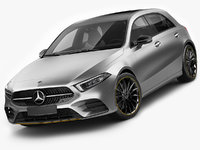Mercedes-Benz A-class 2019 AMG line