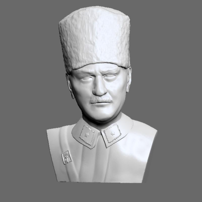 atatrk print ready 3D